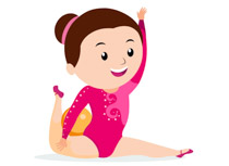 Ball clipart gymnastics. Sports free to download