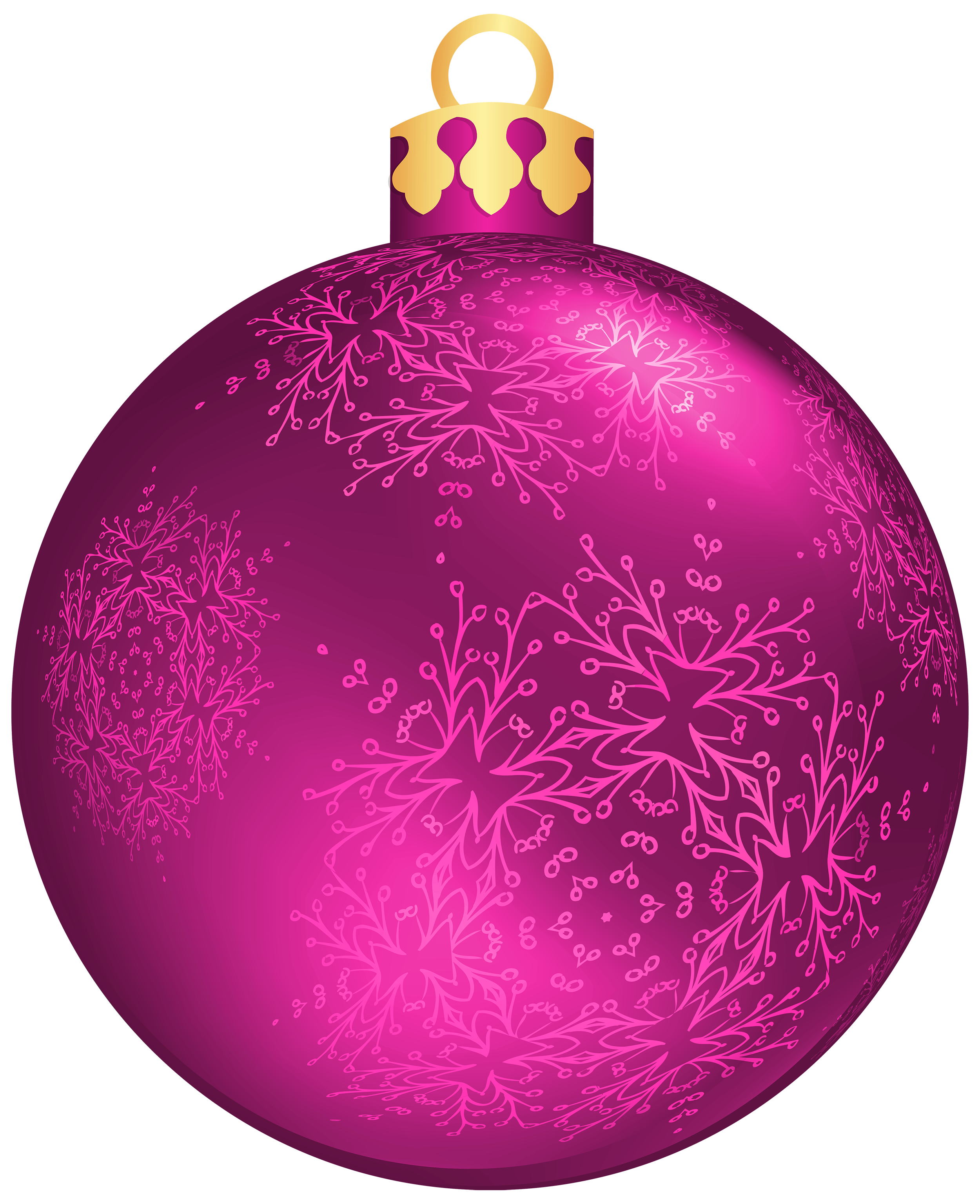Ball clip pink. Christmas png clipart best