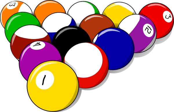 Ball clipart pool table. At getdrawings com free