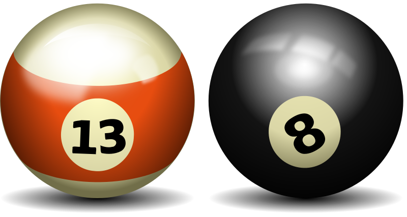Ball clipart pool table. Billiards panda free images