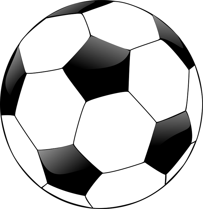 soccer ball clipart heart shaped