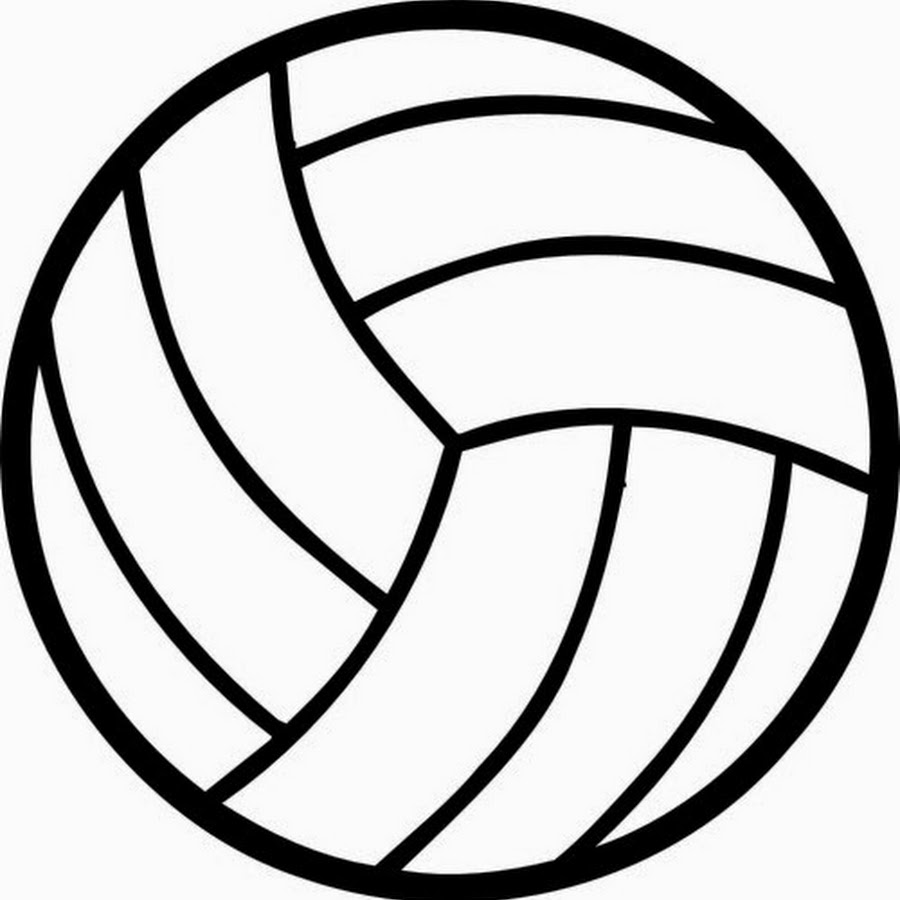 Ball clipart volleyball. Outline wealth wonderful