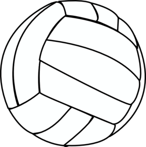Ball clipart volleyball. Drawing at getdrawings com