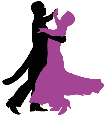 Transparent dancer ballroom. Dancing silhouette at getdrawings