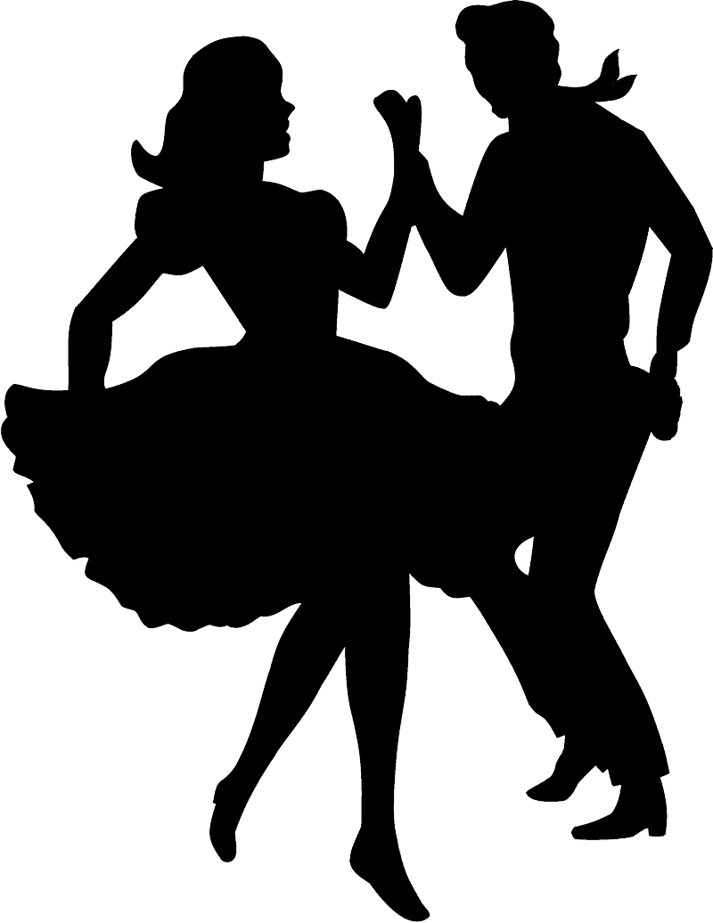 Ball dancing silhouette png. Country western lessons ballroom