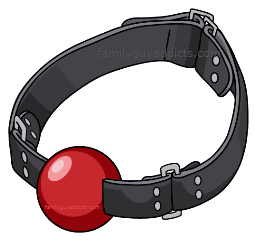 Ball gag png. Quest for stuff quick