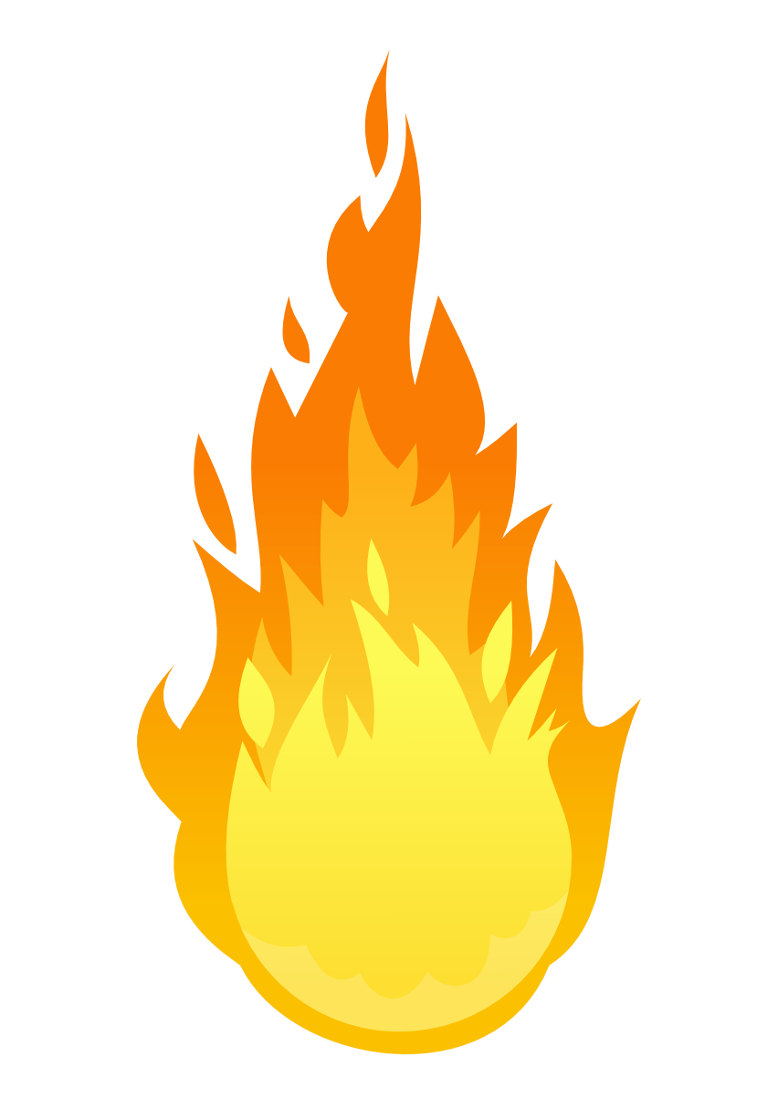 Ball of fire png. Transparent stickpng
