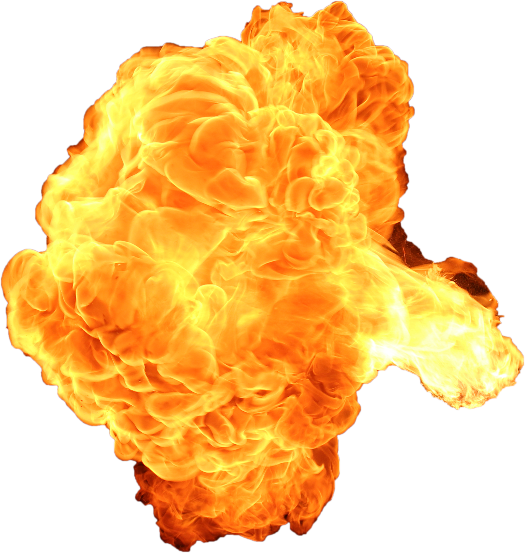 Ball of fire png. Big explosion with and