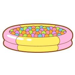 Ball pit png. Large japari library the