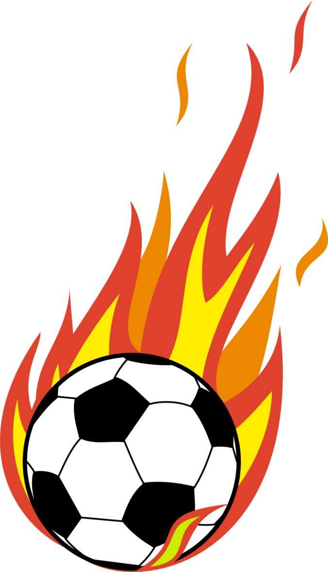 Flaming soccer free icons. Ball png jpg royalty free stock