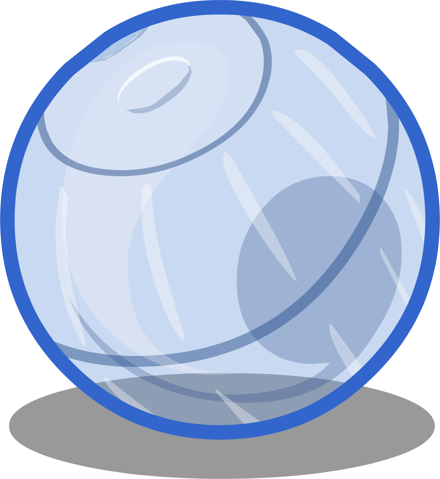 Image puffle club penguin. Ball sprite png clip art royalty free stock