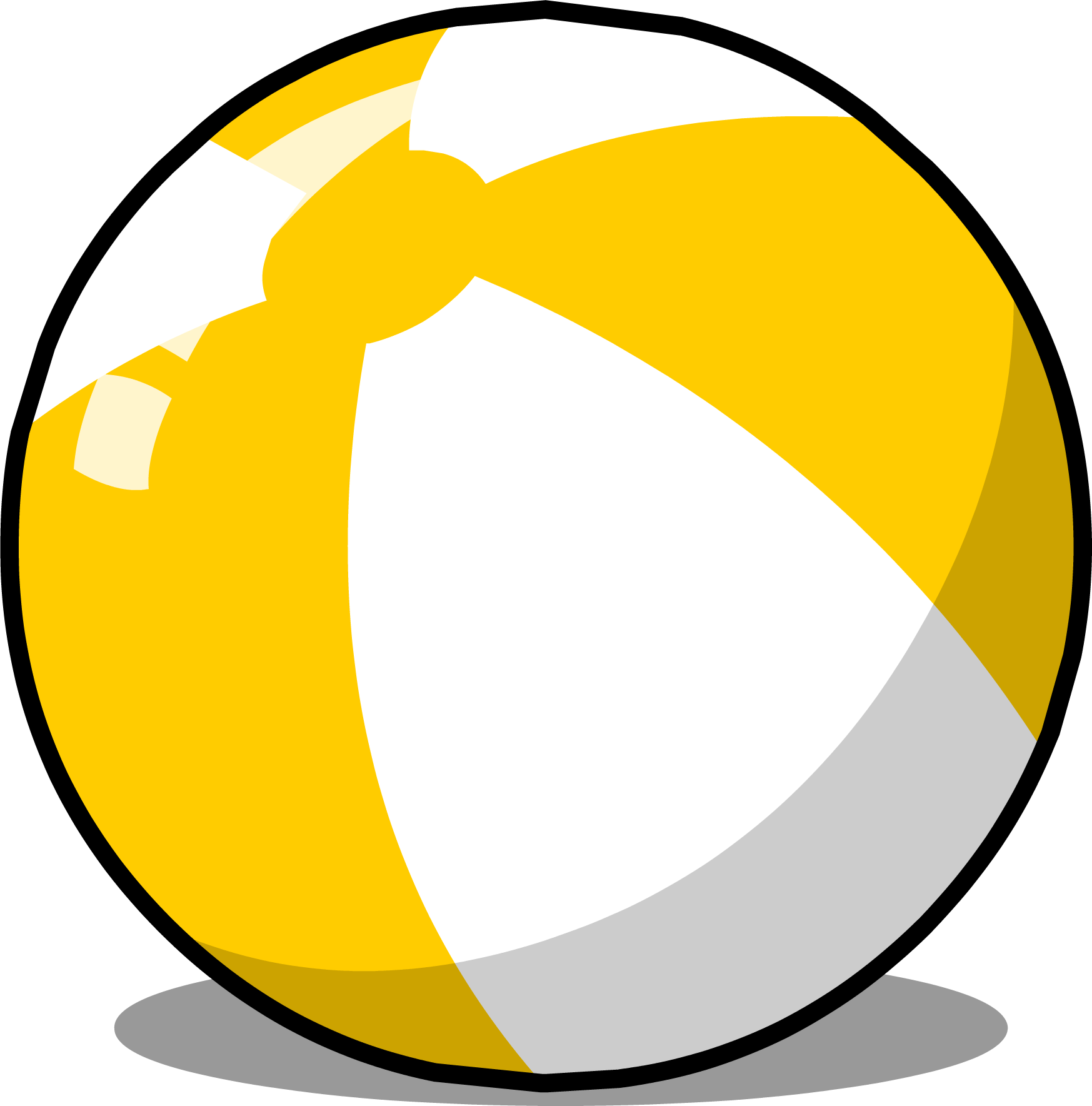 Image beach club penguin. Ball sprite png graphic transparent download