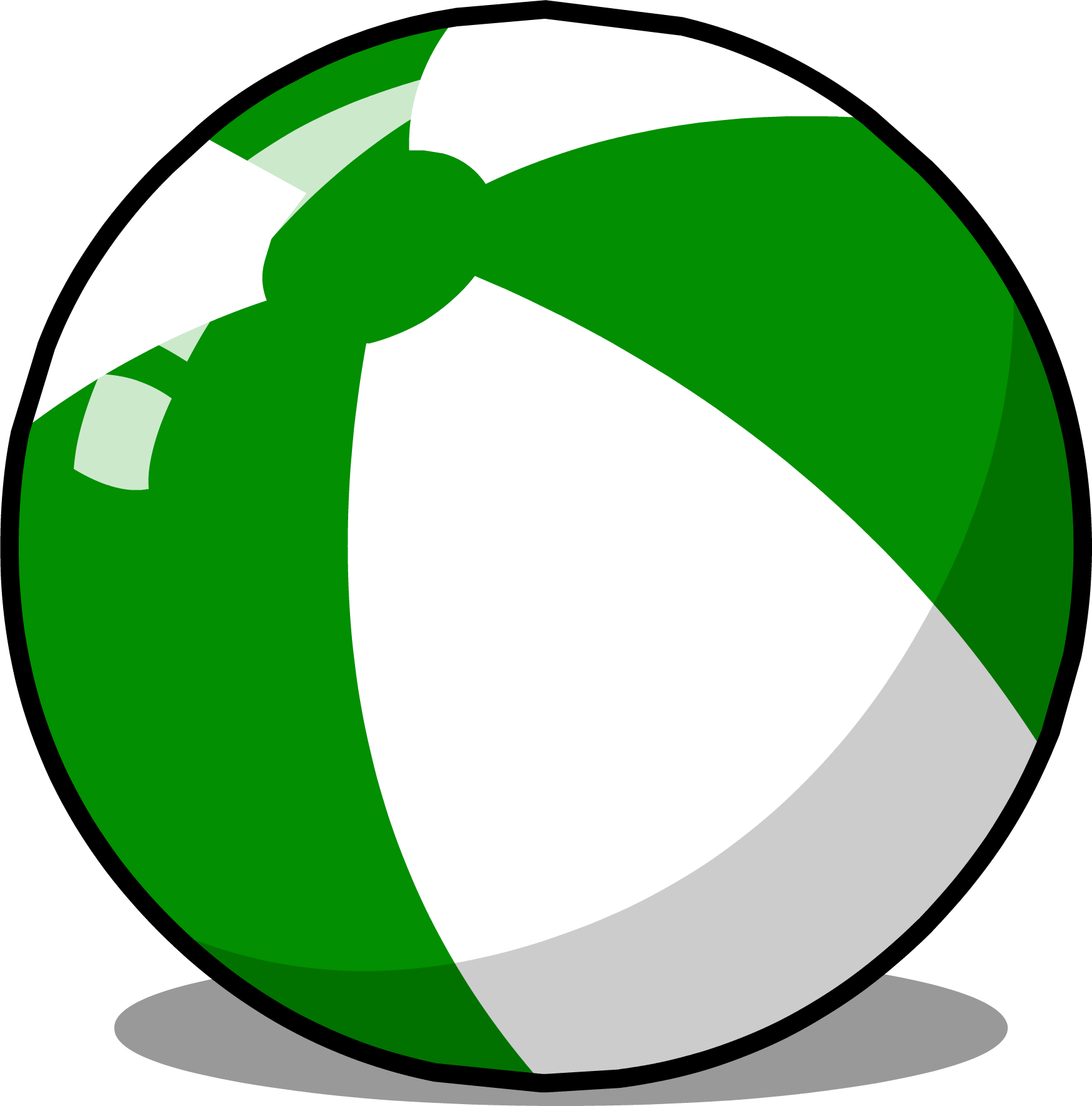 Image beach club penguin. Ball sprite png graphic black and white download