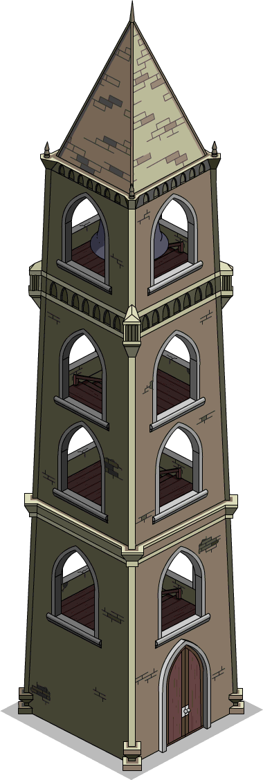 Image menu the simpsons. Ball state bell tower png picture transparent stock