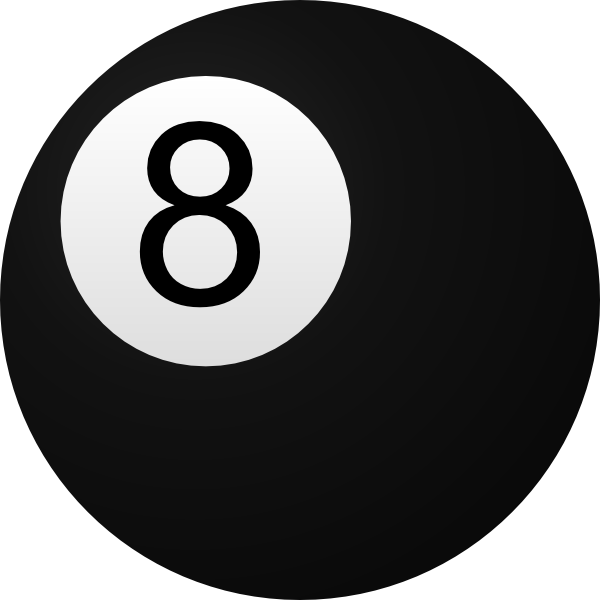 Vector 8. Ball clip art