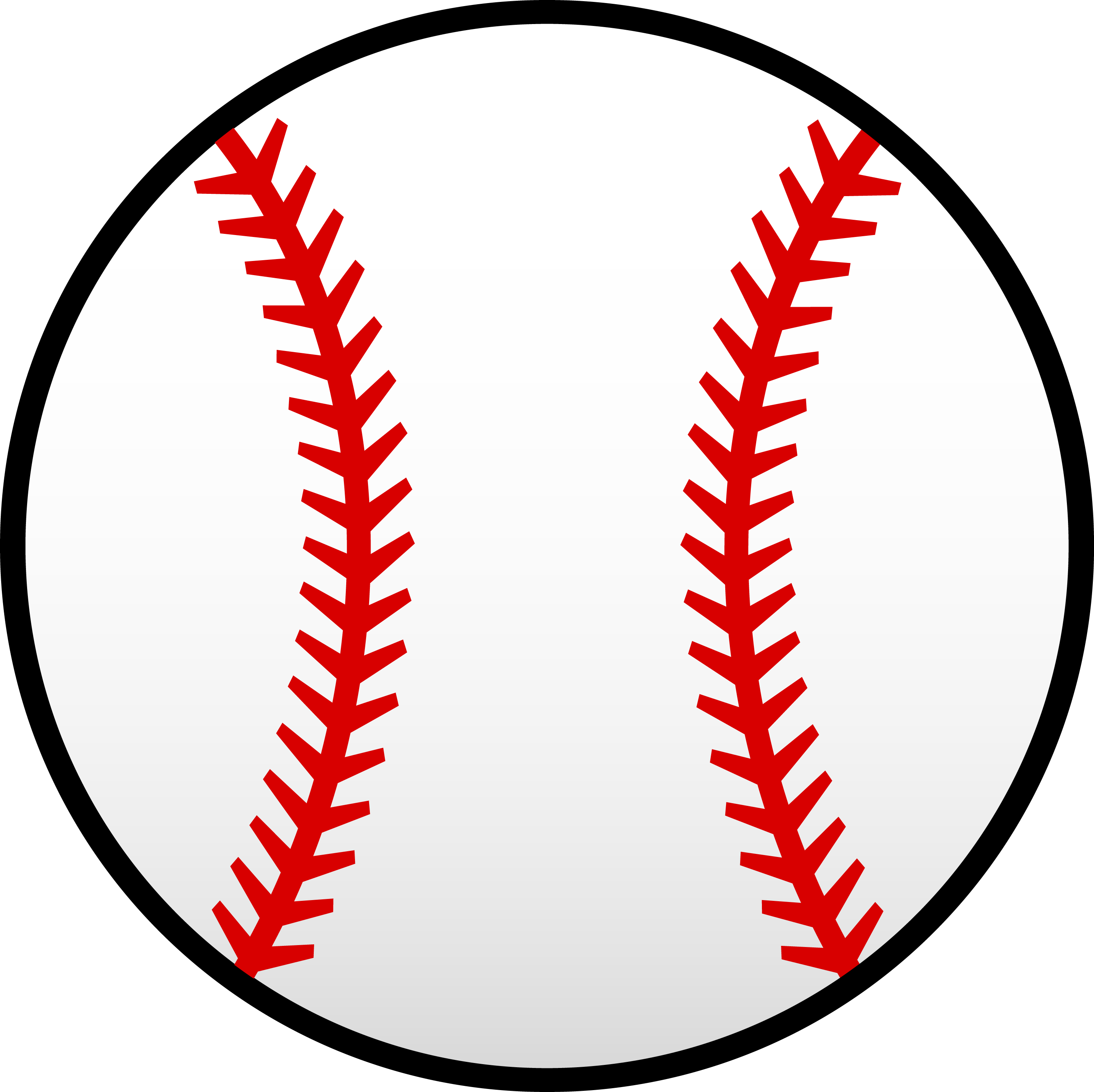 baseball stitch png