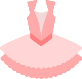Ballet svg clip art. Ballerina dress for mtc