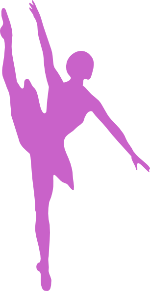Ballet svg printable. Medium pink hi png
