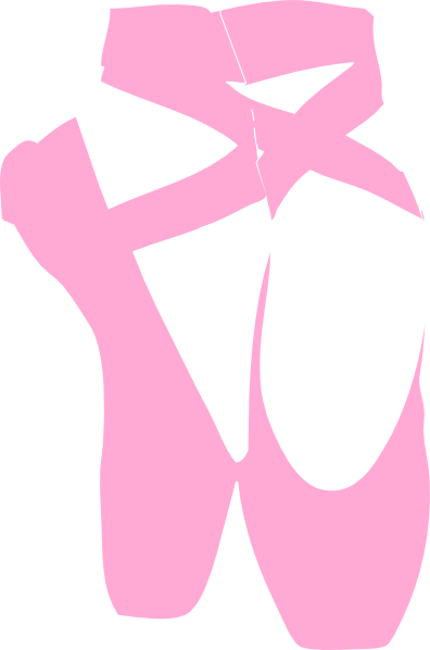 Ballet vector pointe shoe. Slippers clip art at
