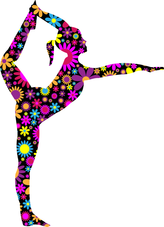 Ballet vector svg free. Dancer silhouette stretching commercial