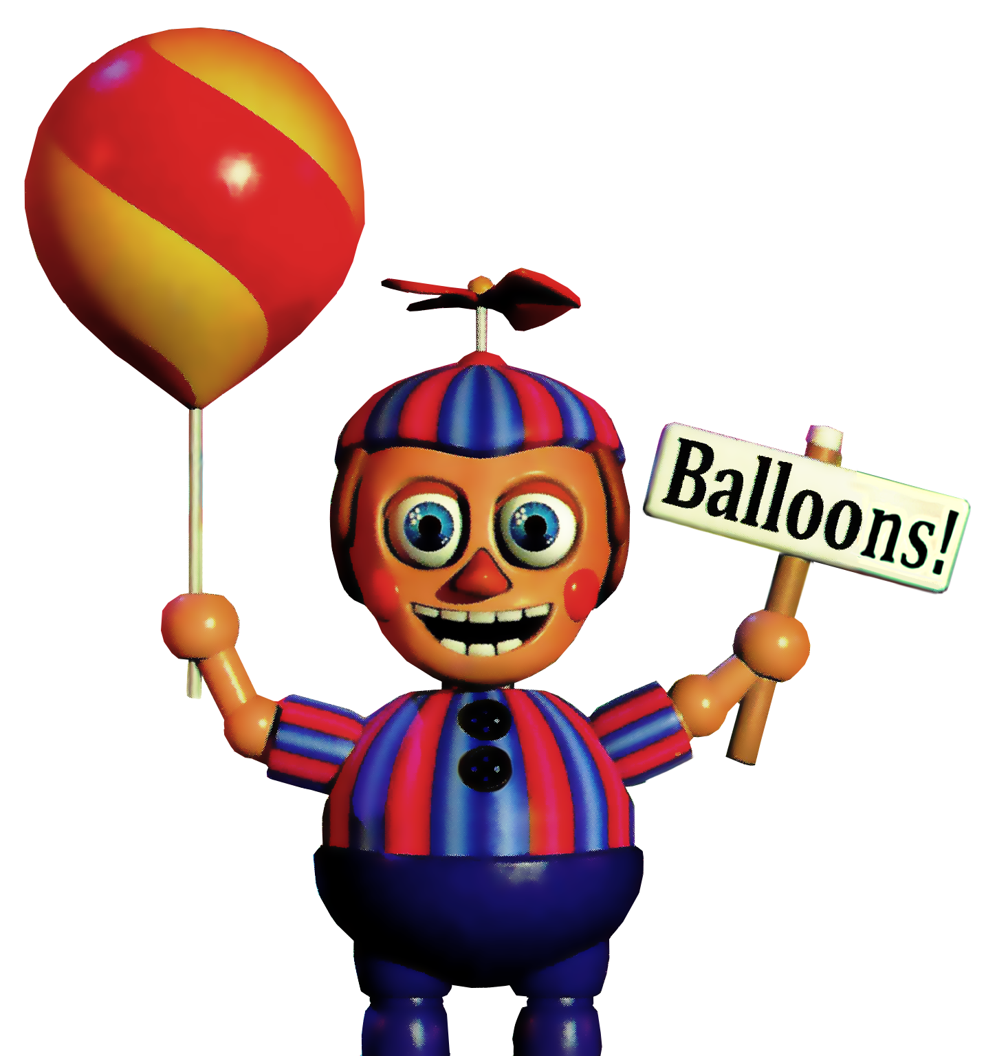 Balloon boy png. Decided to try and