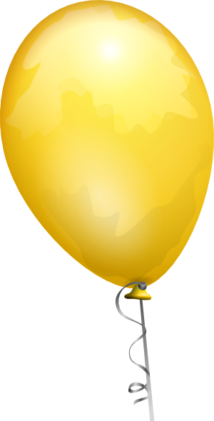 Yellow balloons png. Clipart explore pictures download