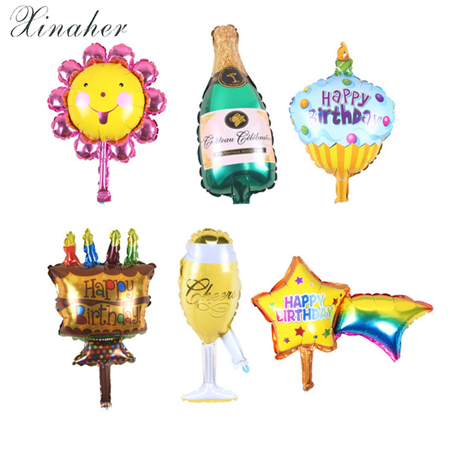 Ballon clipart birthday accessory. Xinaher pcs lot decoration