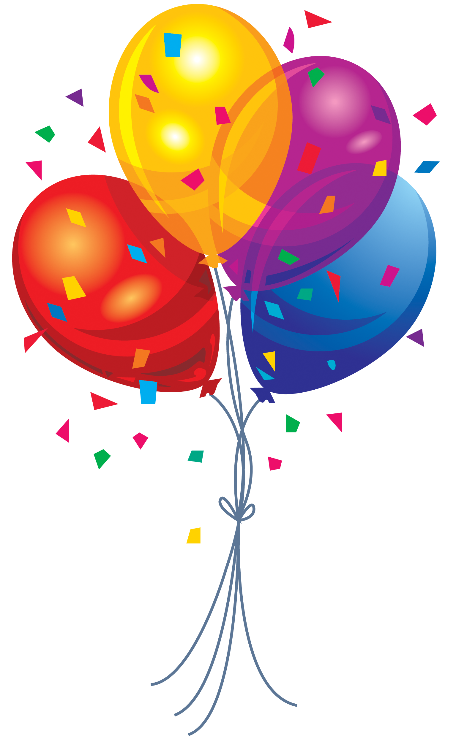 celebration balloons png