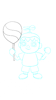 Ballon drawing easy. How to draw balloon