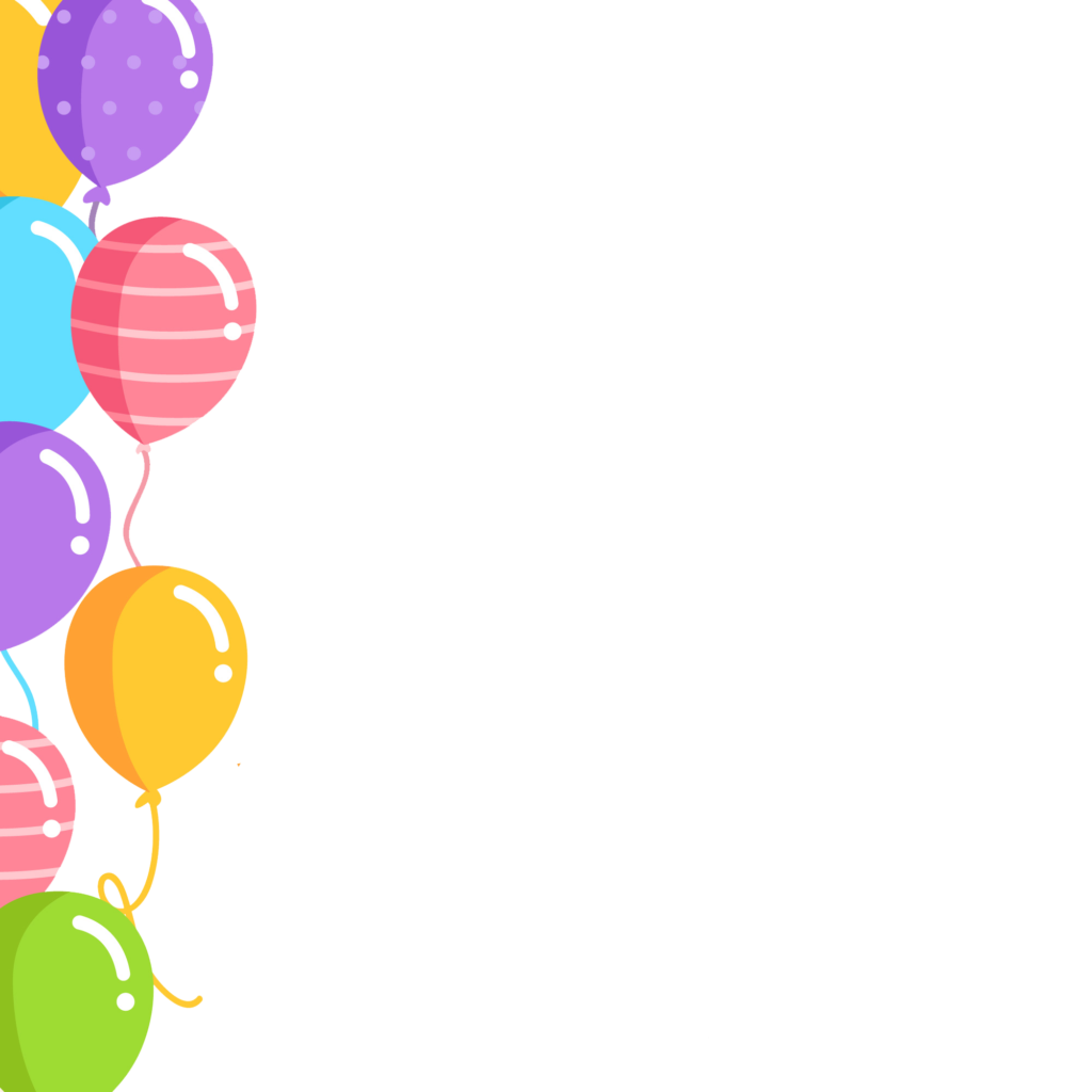 Birthday border png. Balloons peoplepng com