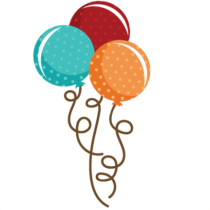 Balloon bouquet png. Polka dot svg file
