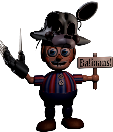 Balloon boy png. Image withered fantendo nintendo