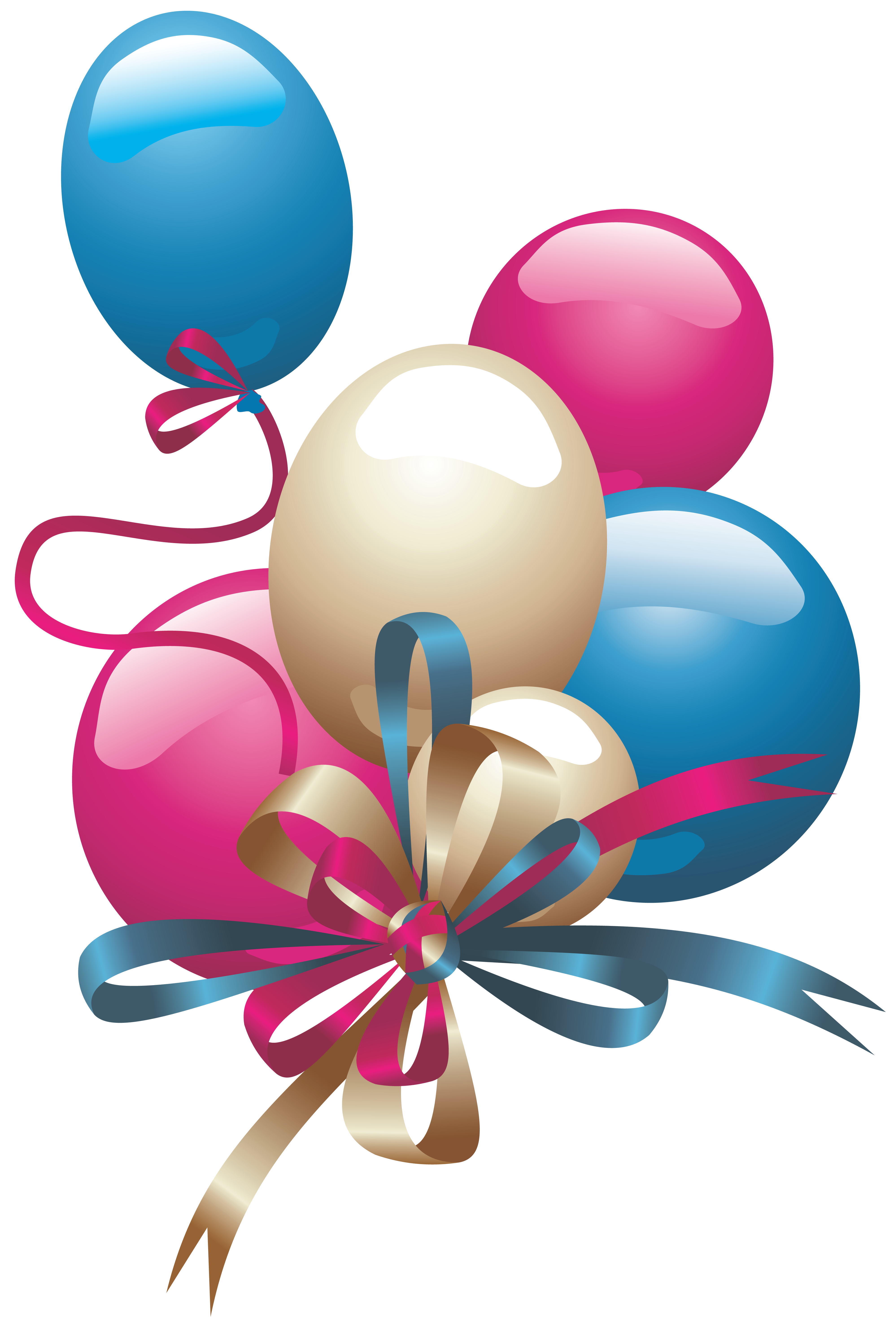 pink and black balloons png
