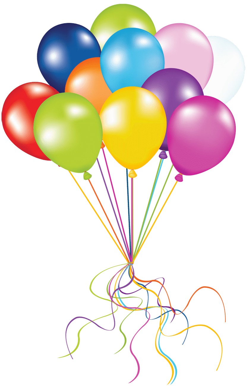 Globos png. Grape of balloons transparent