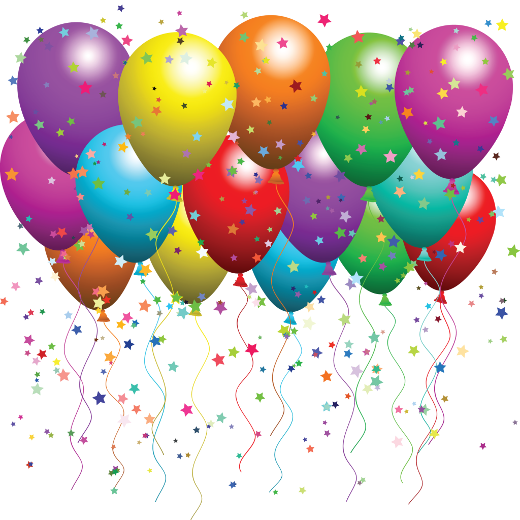 Happy birthday balloons png transparent background. Balloon pictures free icons
