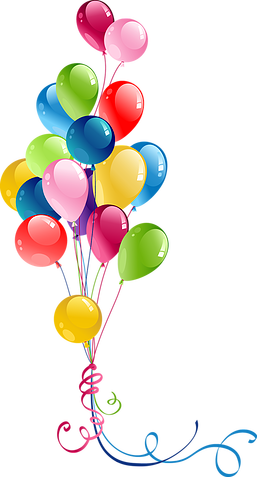Balloons clipart happy birthday. Pin by zb on