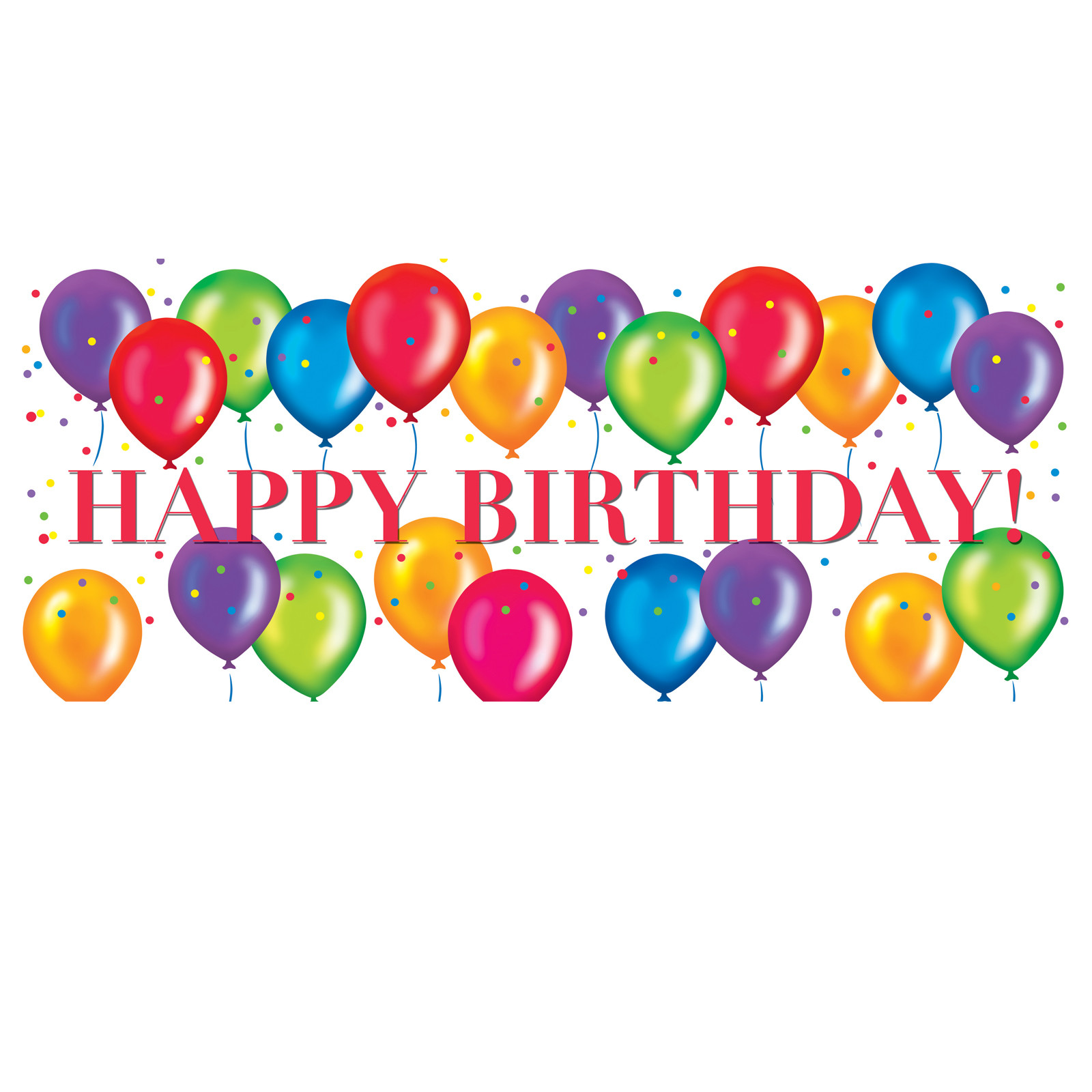 Balloons clipart happy birthday. At getdrawings com free