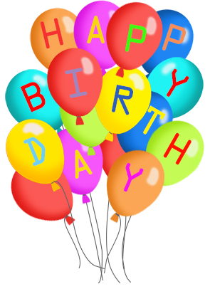 Balloons clipart happy birthday. Free balloon clipartfest