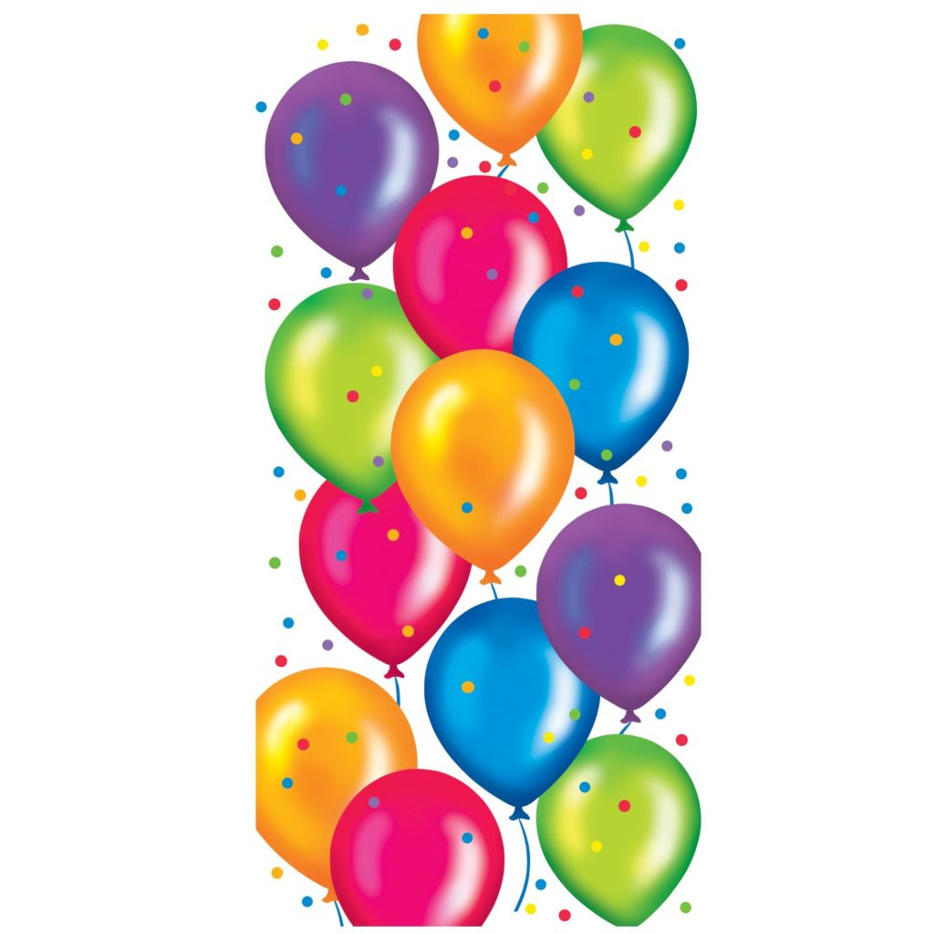 Balloons clipart happy birthday. Ipr pie of typegoodies