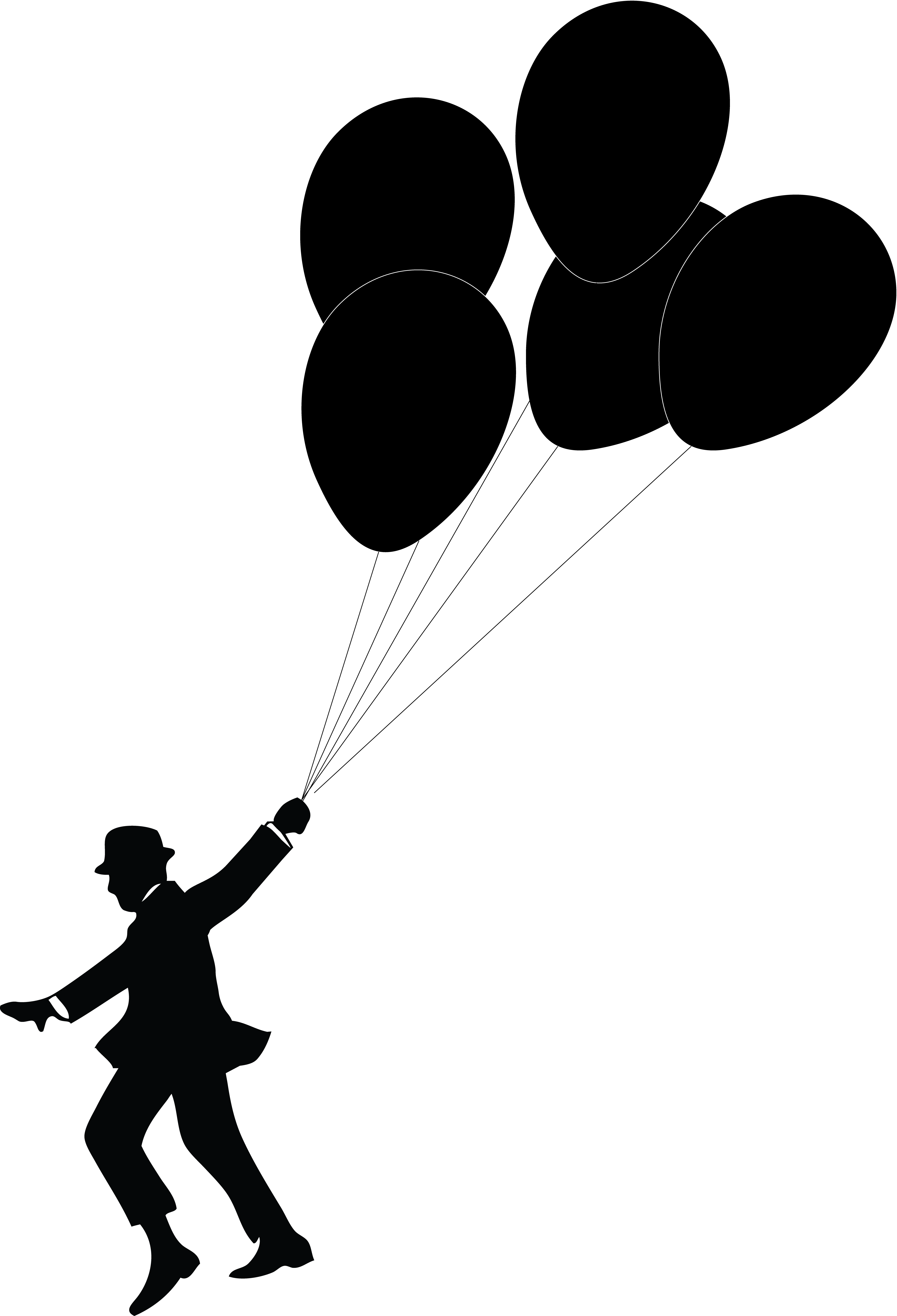 Balloon man free images. Dachshund clipart vector svg library library