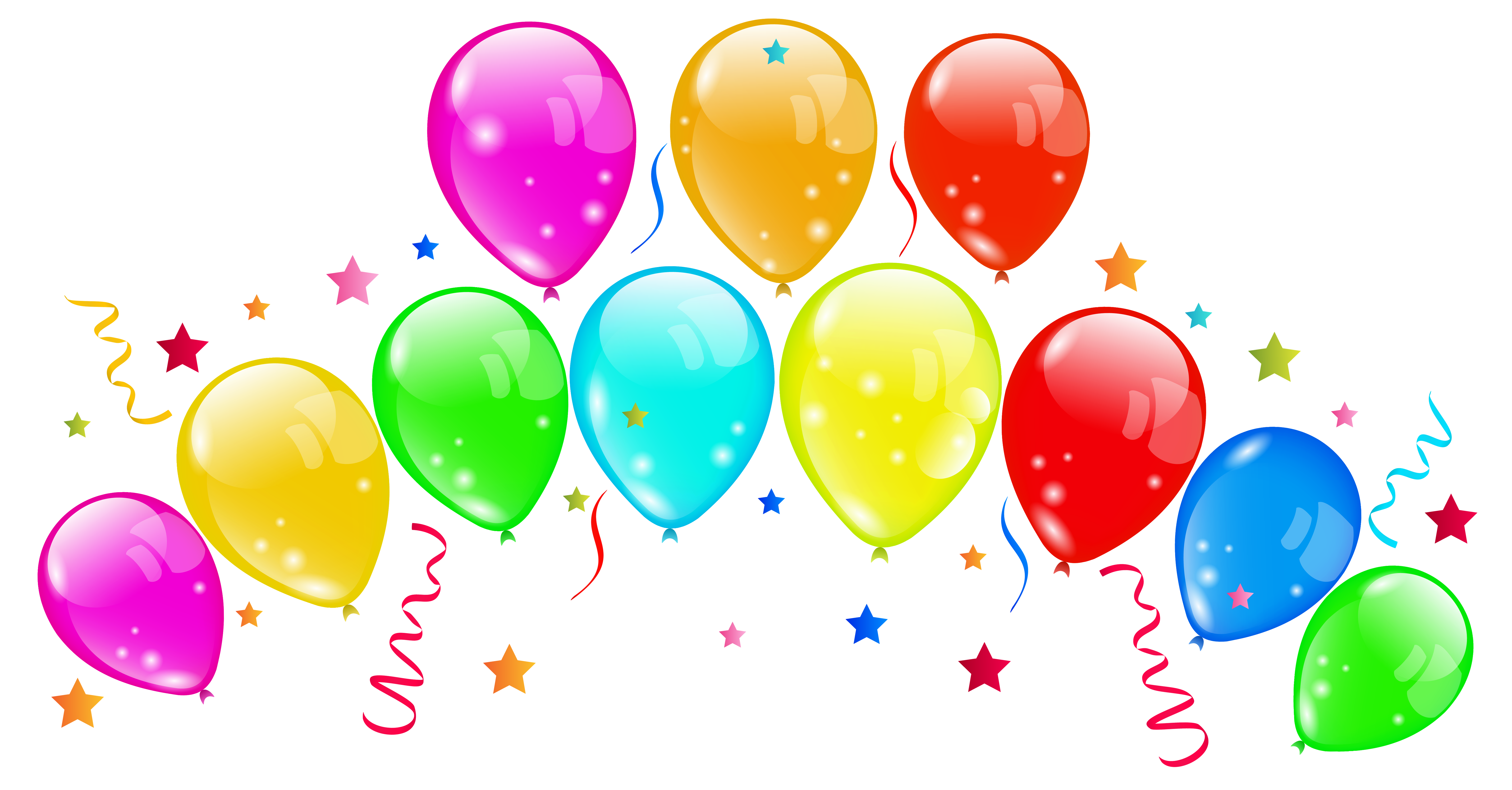 Balloon clipart png. Decorative balloons image gallery
