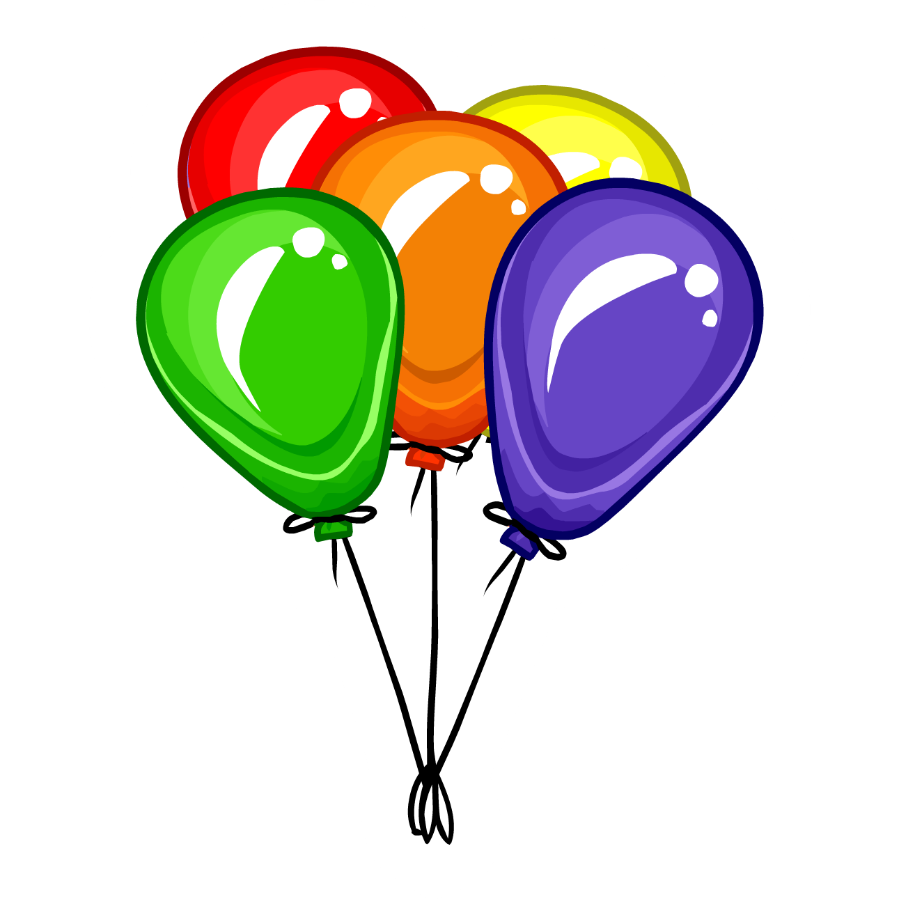 Balloons clipart png. Collection of balloon