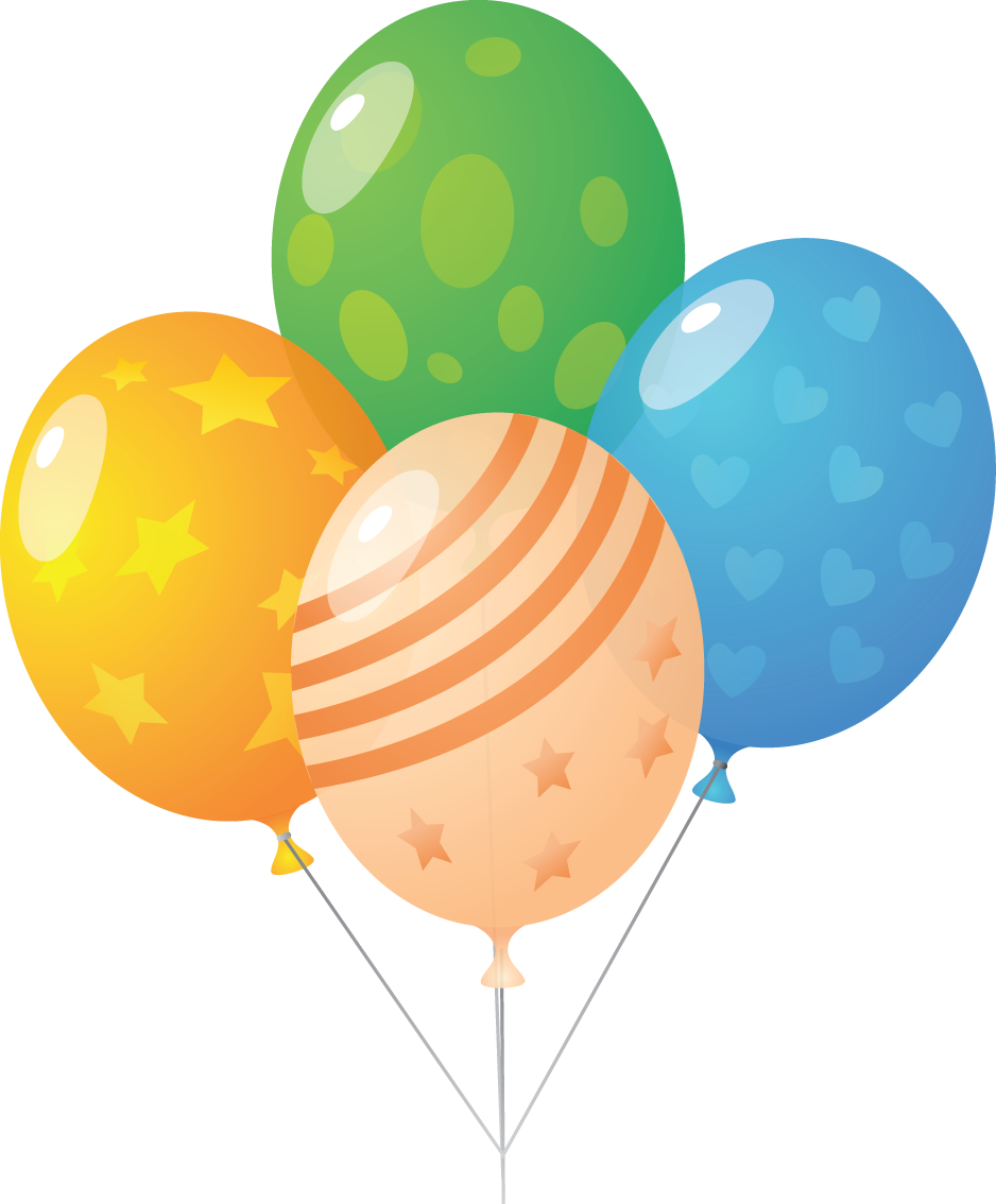 Balloons png transparent background. Balloon images and clipart