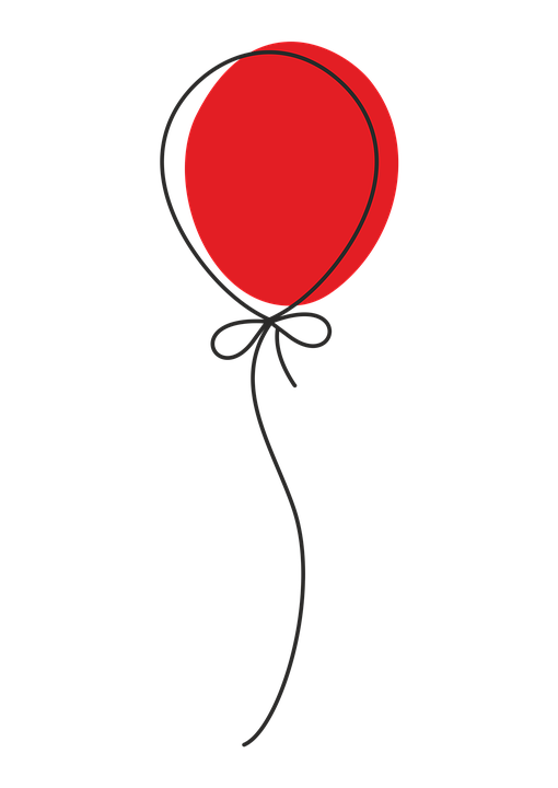Balloons vector png. One balloon transparent images