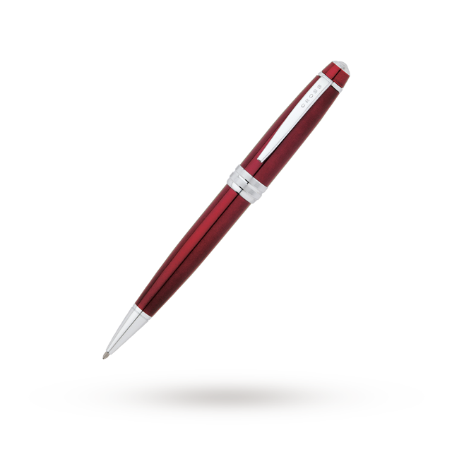 Ballpoint drawing red. Cross bailey pen gifts