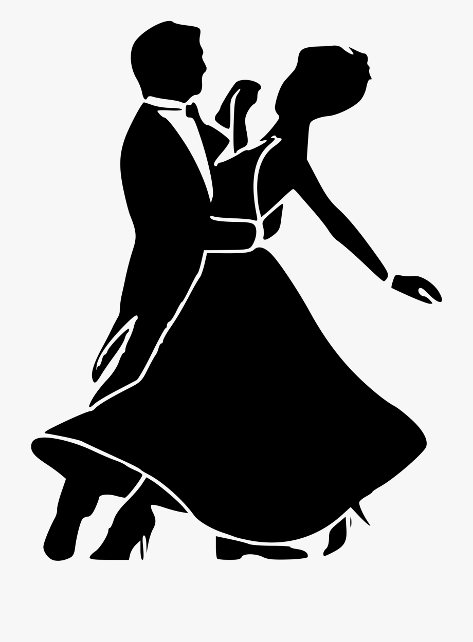 Ballroom dancing. Clip art transparent swing