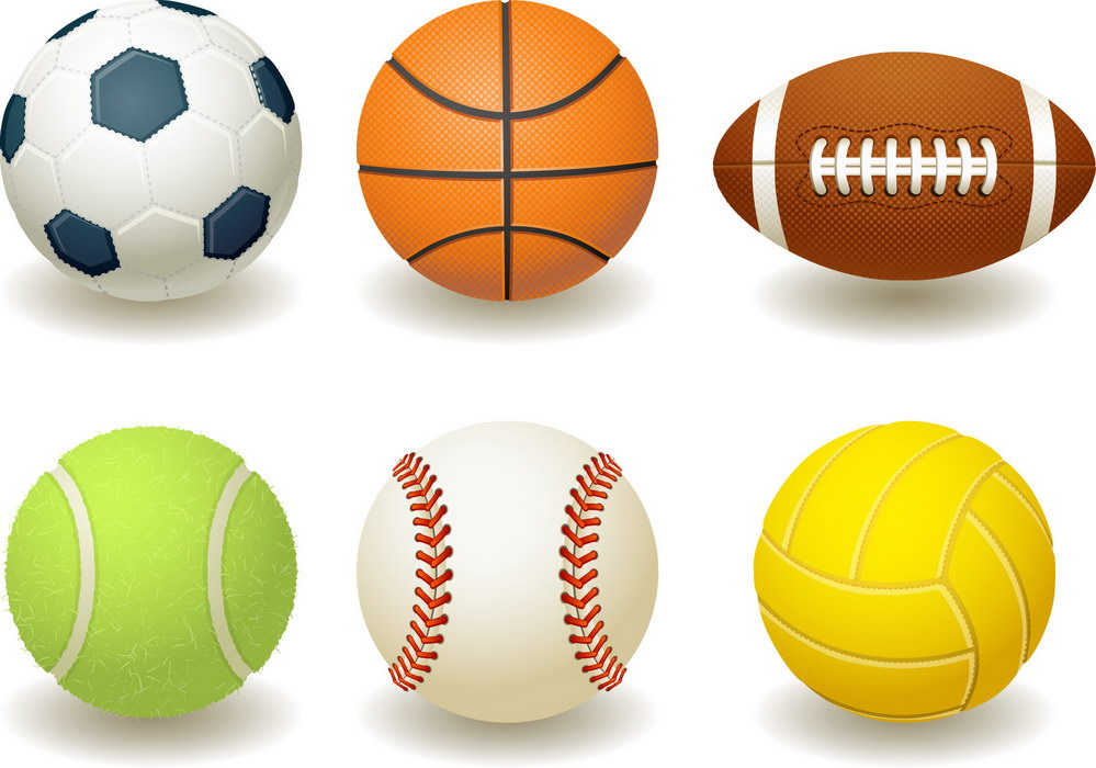 Sport . Balls clipart png black and white stock