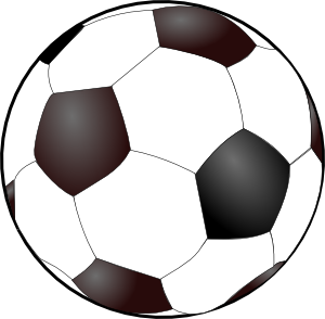 soccer ball clipart flame