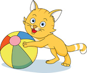 Balls clipart cat. Search results for playing