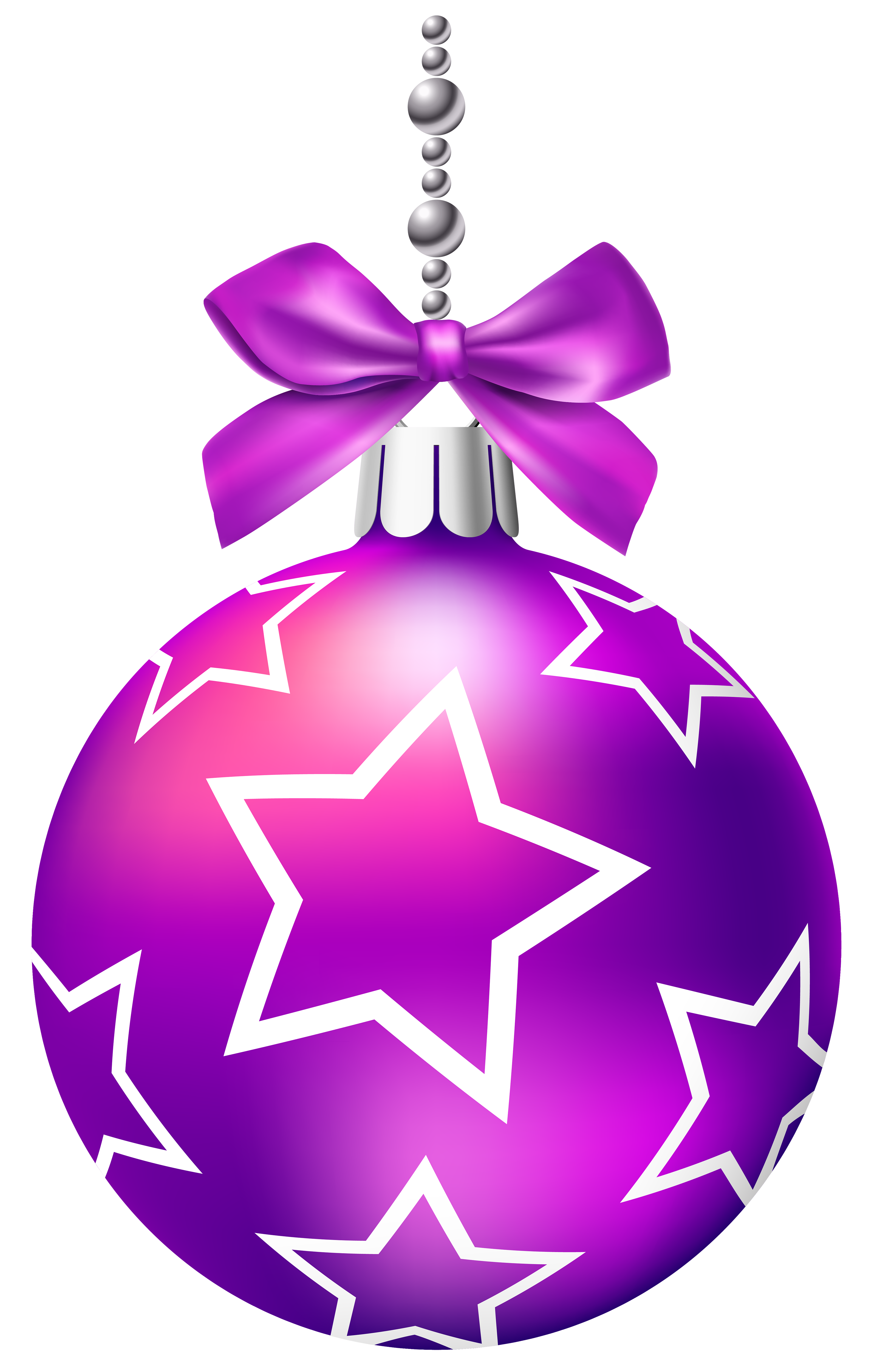 Purple christmas ornaments images png